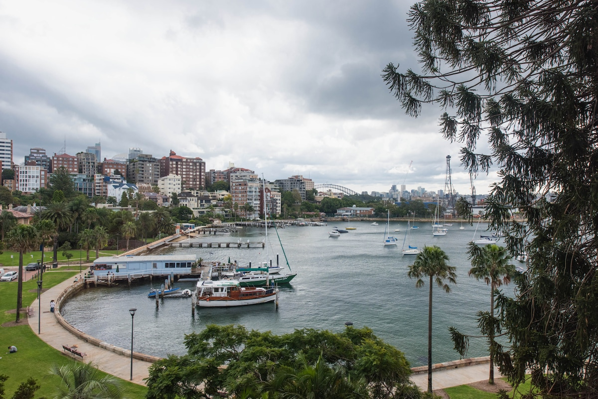 Harbour views only minutes to CBD