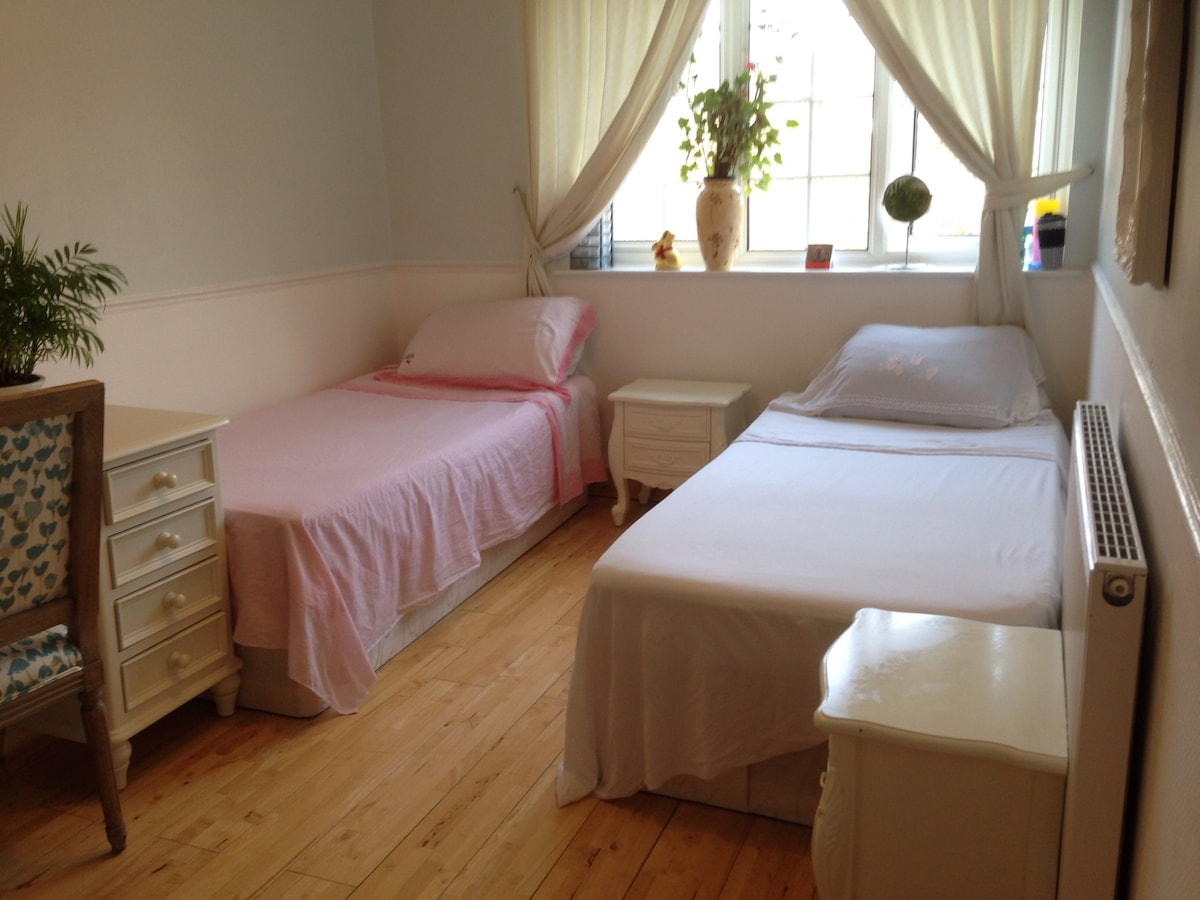 Lovely, Bright Twin Or Triple Room