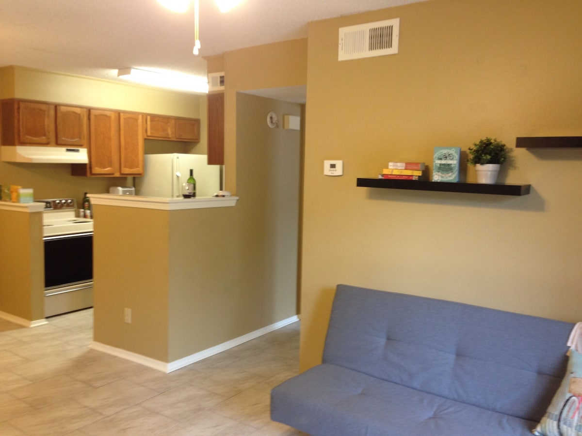 Your Own 1 Bedroom Condo In Town