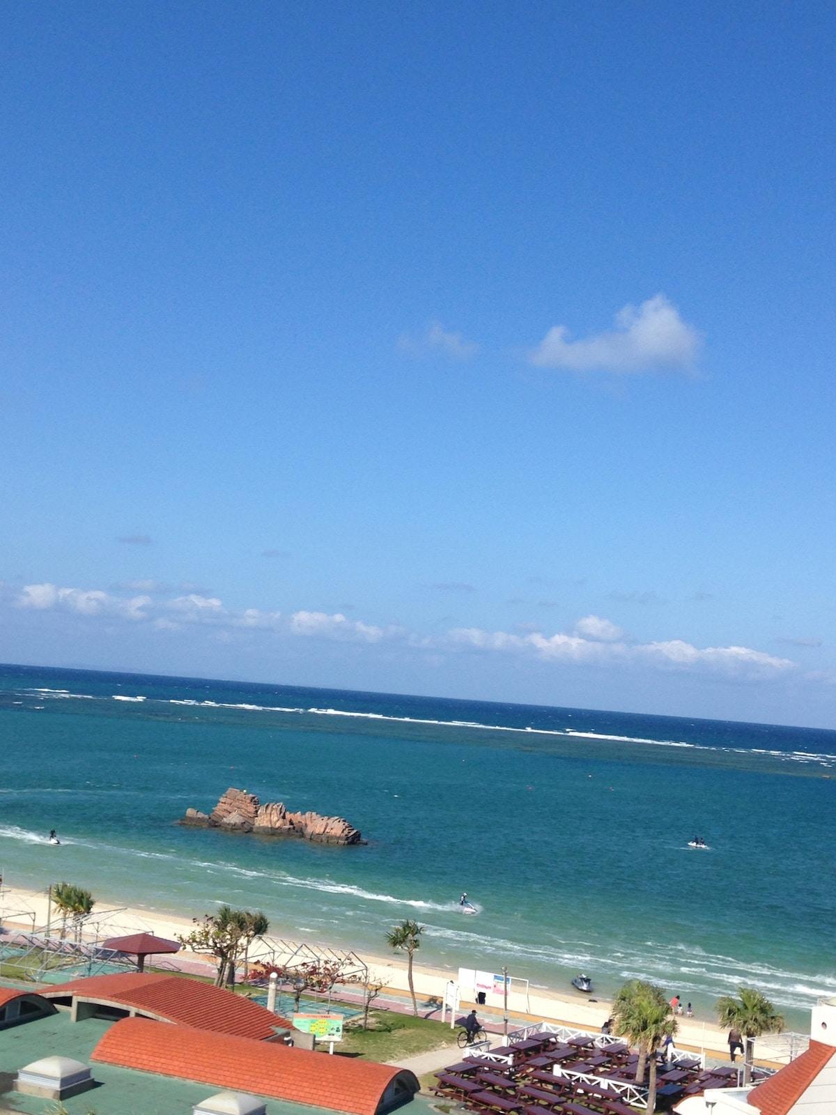 沖縄屈指のビーチリゾートエリア✨