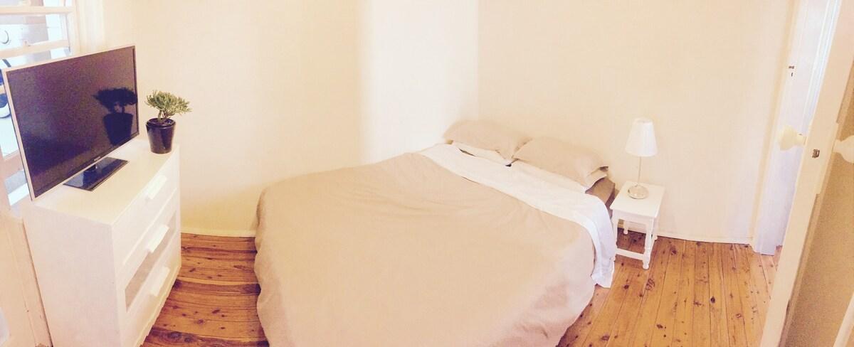Sunny, Clean, Quiet, Room + Sunroom