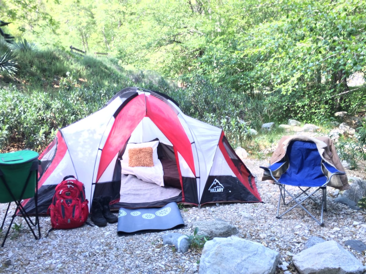 Wilderness Camping at its Best...