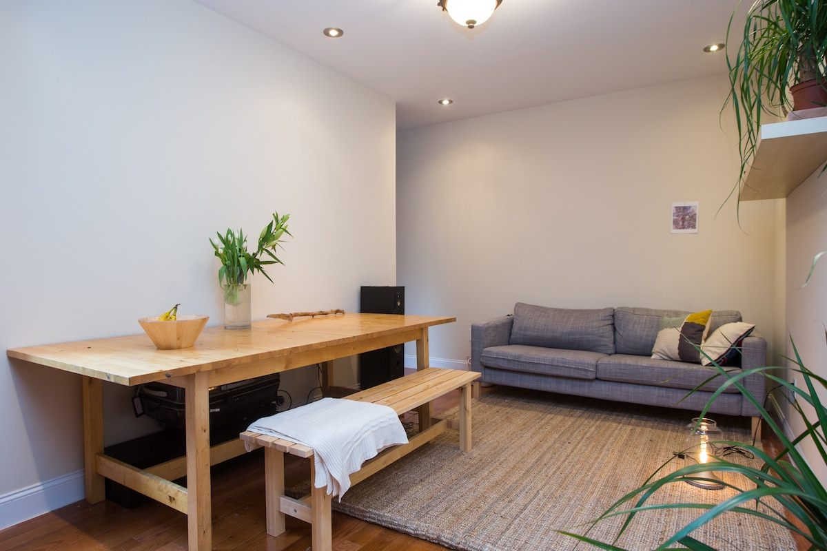 Cosy 2br 20 min from the city