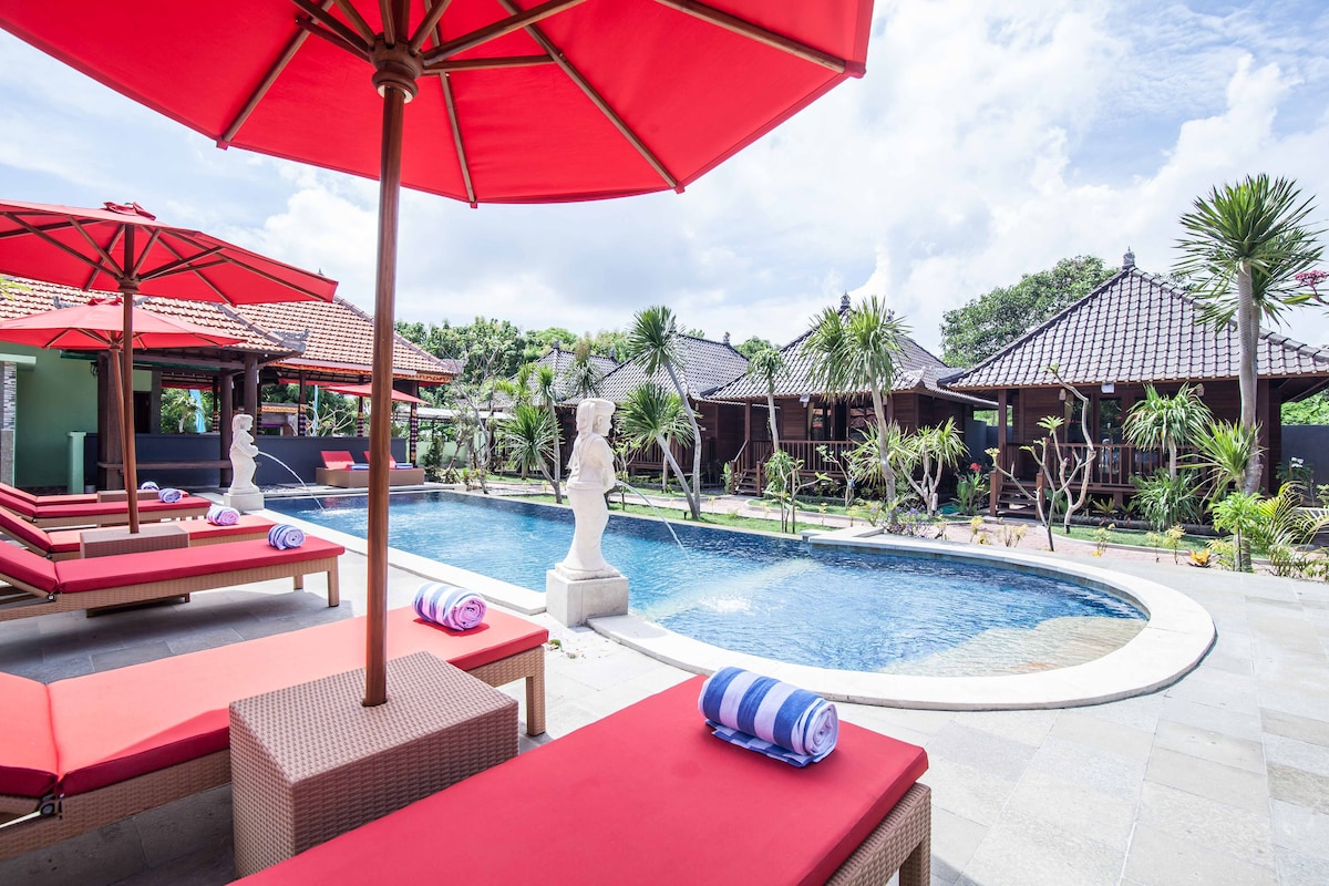 ESCAPE AT LEMBONGAN GARDEN COTTAGES