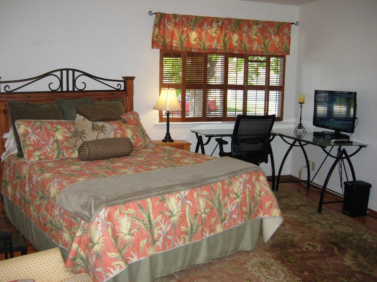 Private master suite near Cupertino