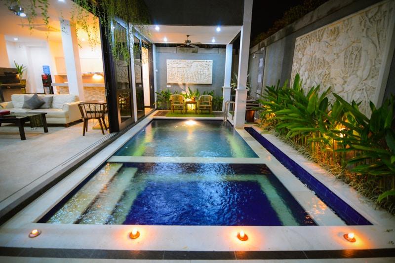 Villa Cinta Buana 2BR Legian Kuta.