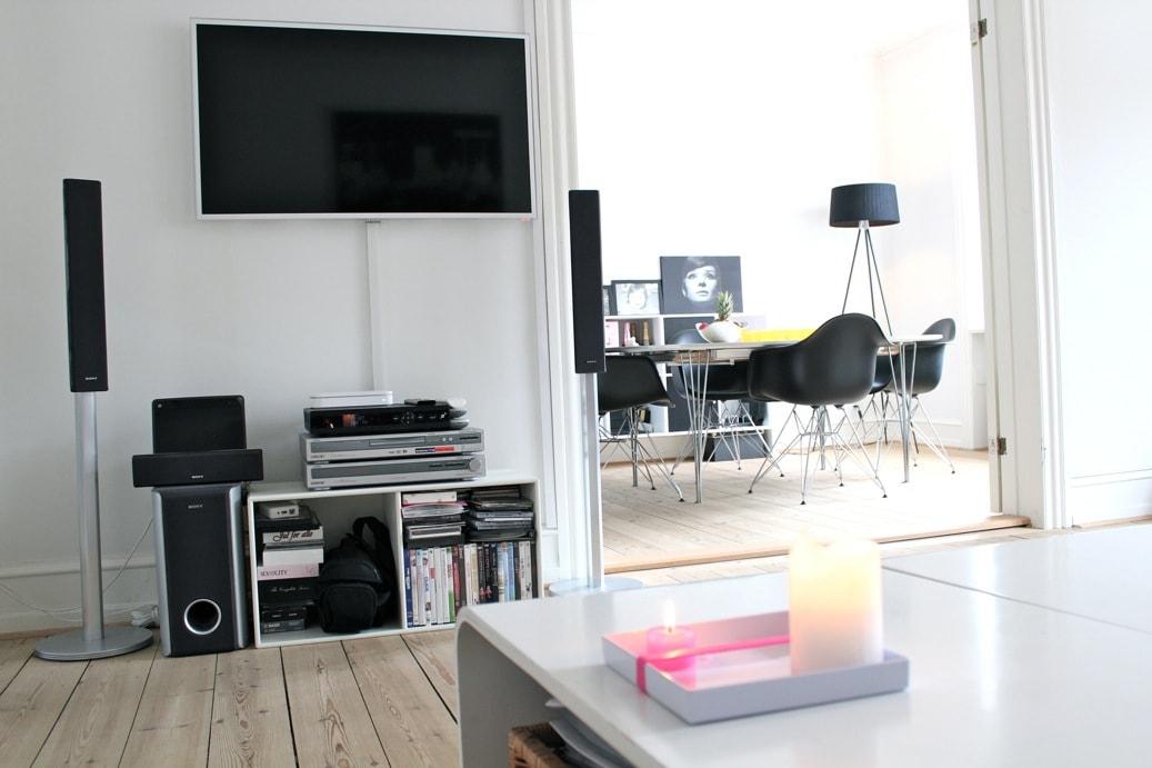 Copenhagen center, 3-room apartment