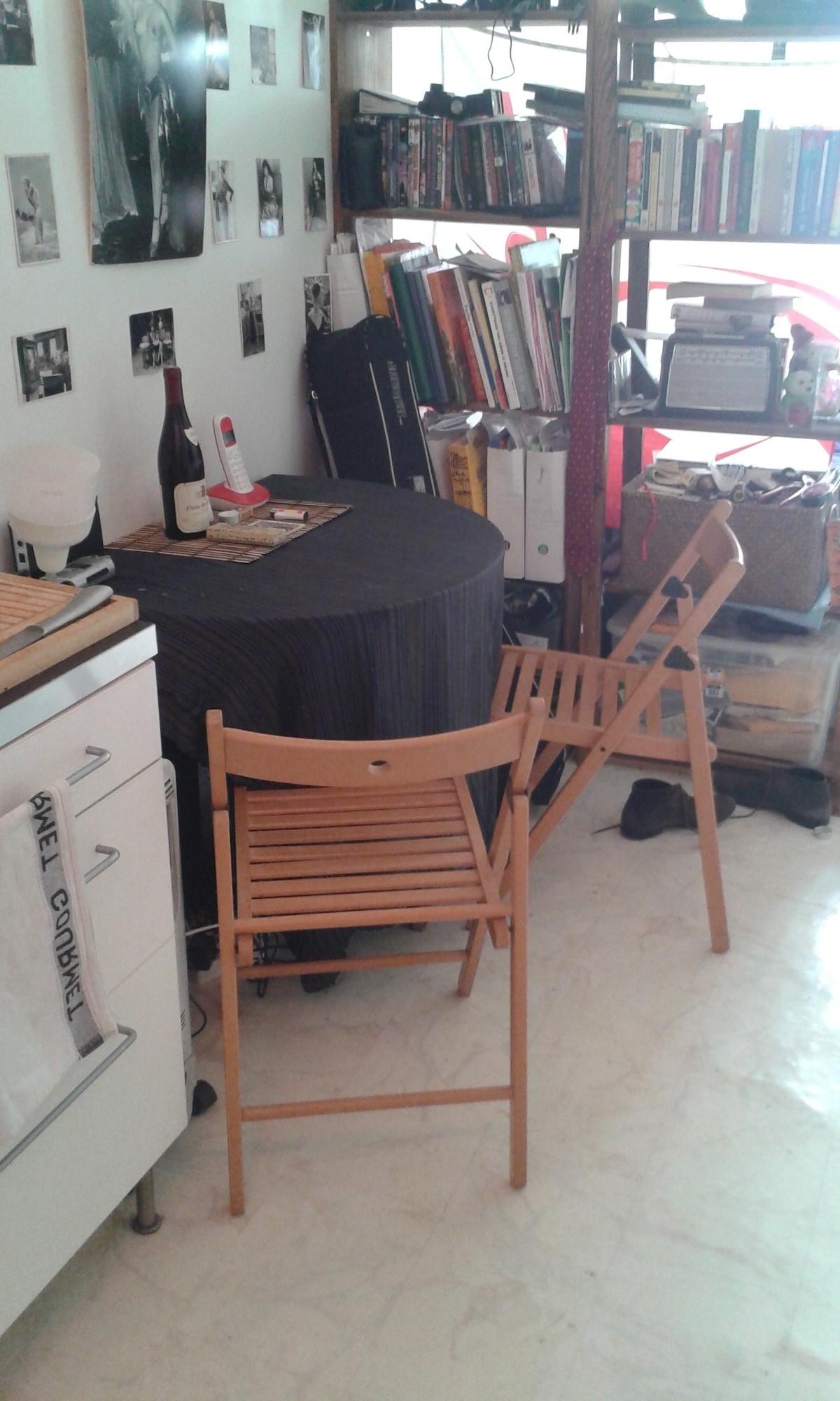 Cozy Studio Oberkampf 11 arrondis