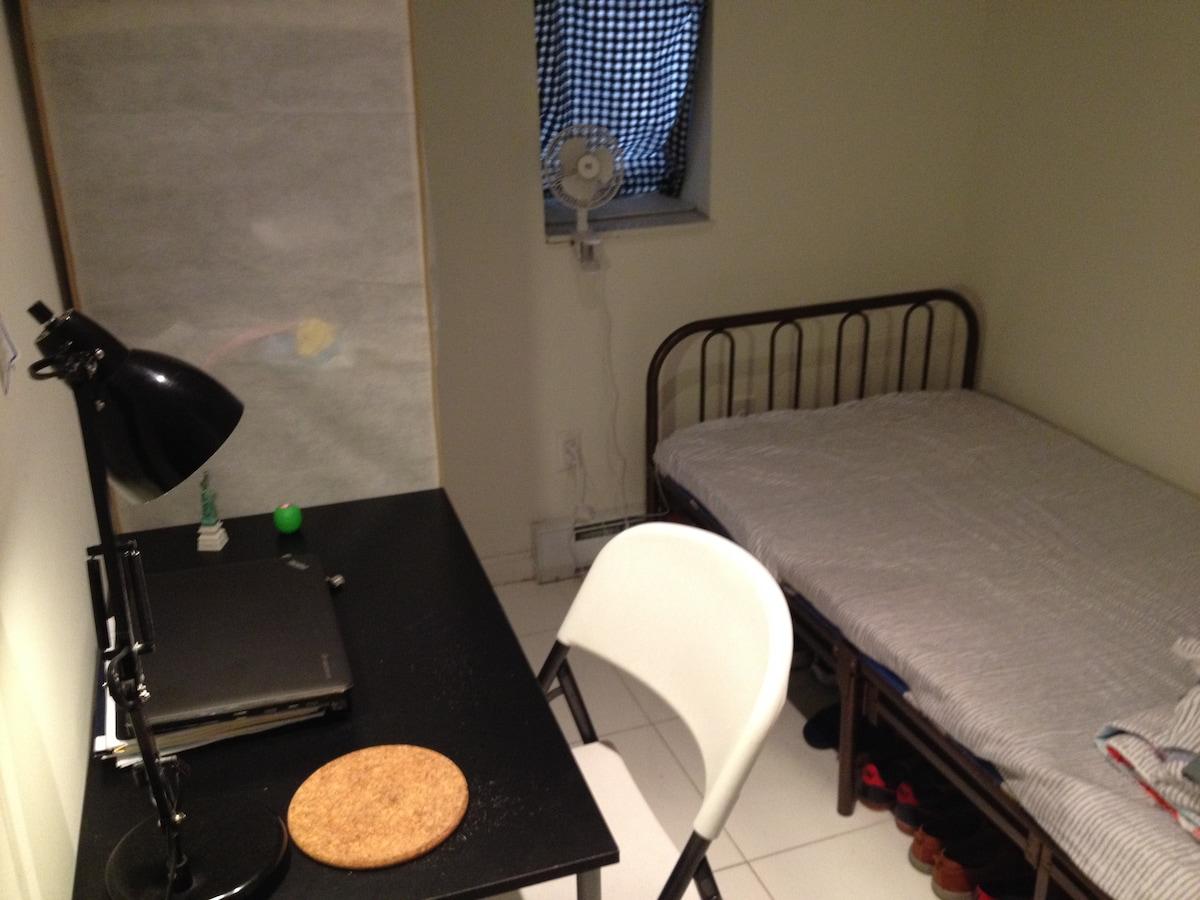 哥大附近105街独立卧室暑期出租