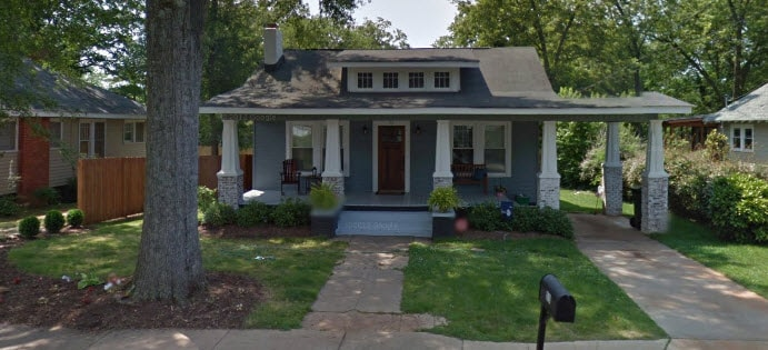 Our house in Nicholtown, close to downtown GVL!
