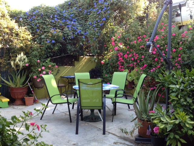 Patio, July 2012.