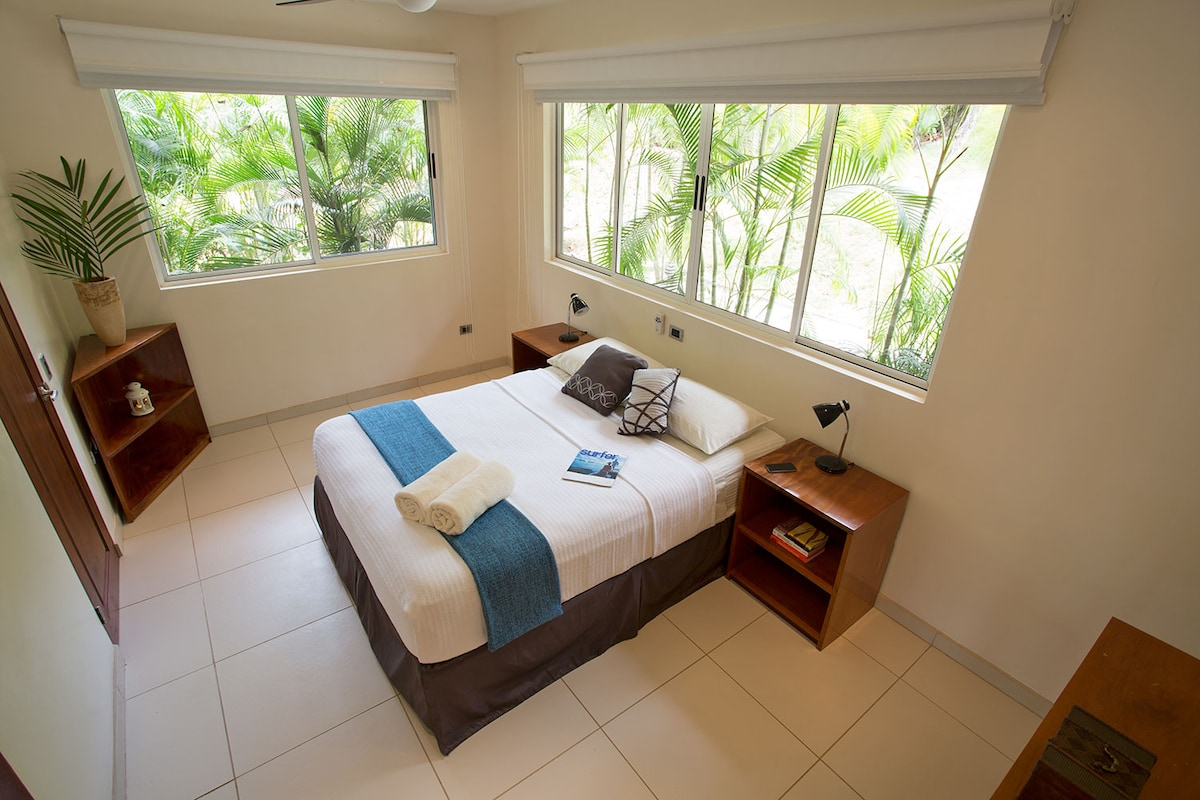 The second master bedroom is equally spacious with a minimal, clean, well-thought-of design.