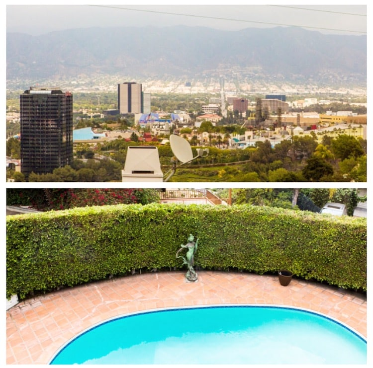 Hwoodhils mansion with Pool & Views