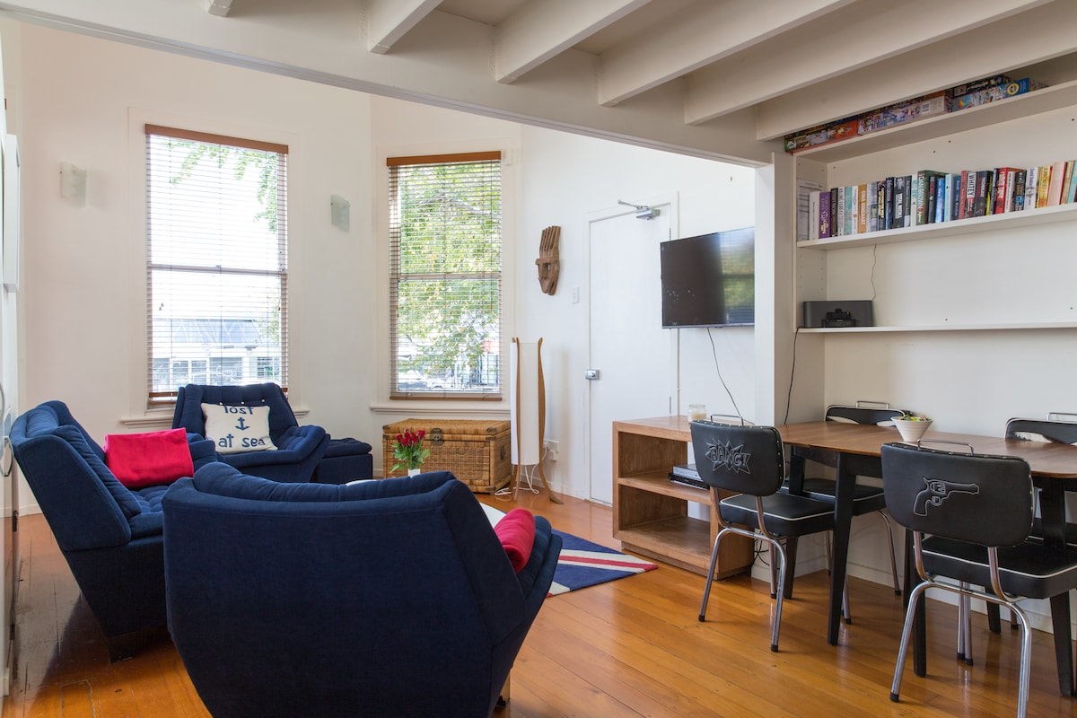 PONSONBY 1 bedroom loft apartment
