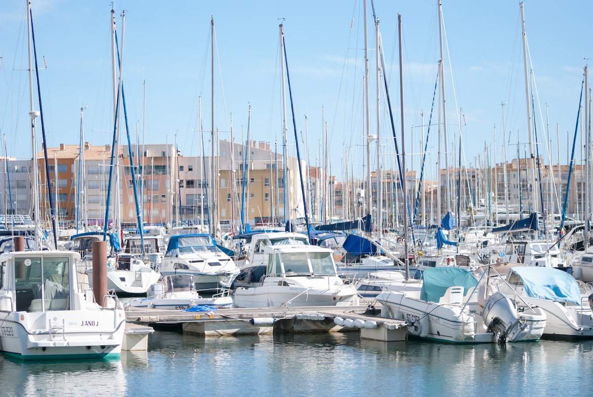 Appart Bord de Mer au Cap d'Agde