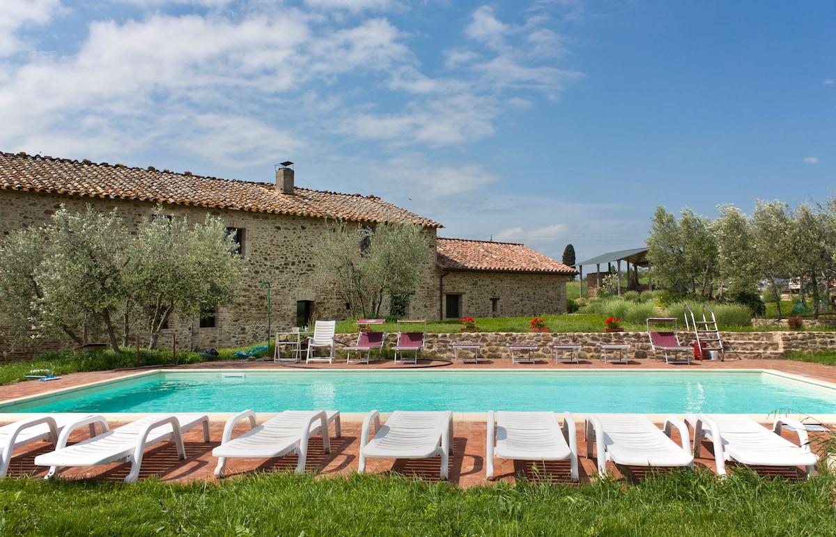 A Camping Farmhouse in Perugia