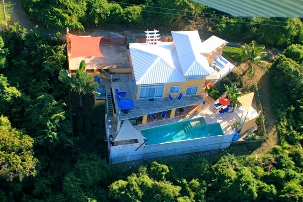 A-16-N Vieques Villa Gallega, surrounded by a protected park and overlooking the Sea and ocean