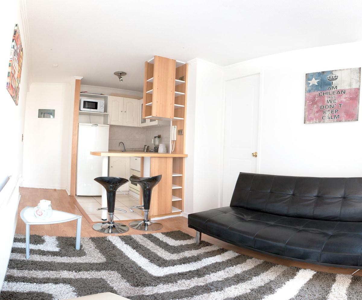 Apartment in Santa Lucía station