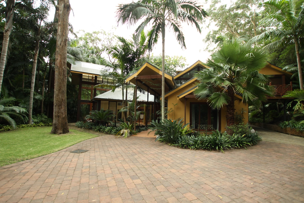 A tropical OZ Home in Sydney