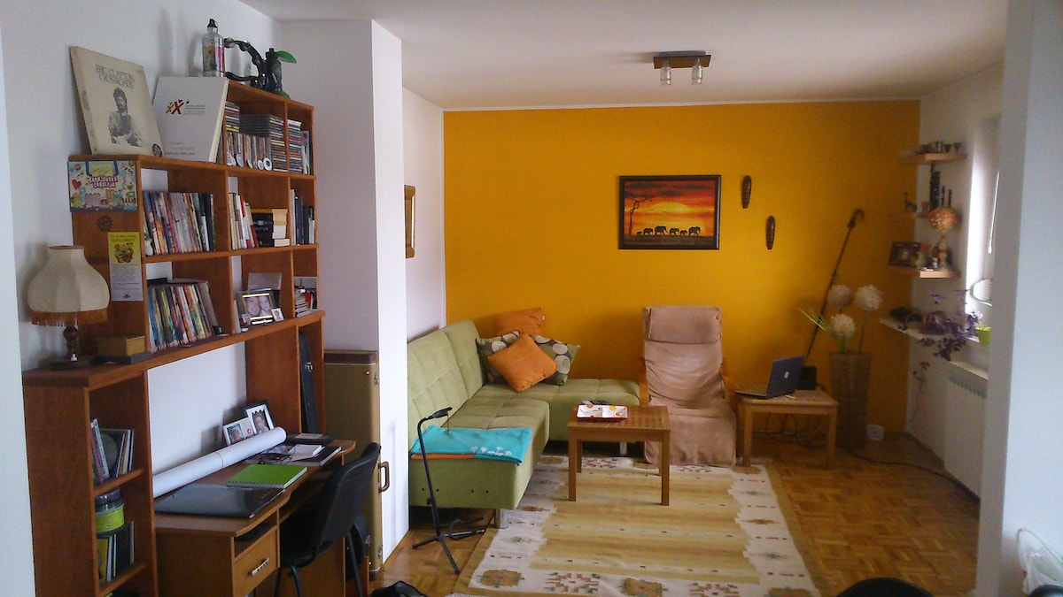 Charming and quiet one-bedroom apt.