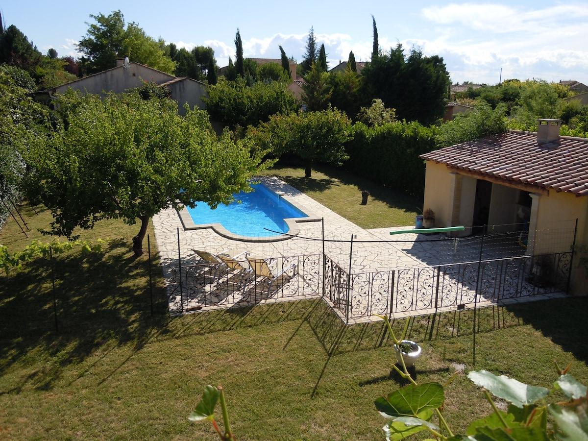 Villa 3 chambres avec piscine