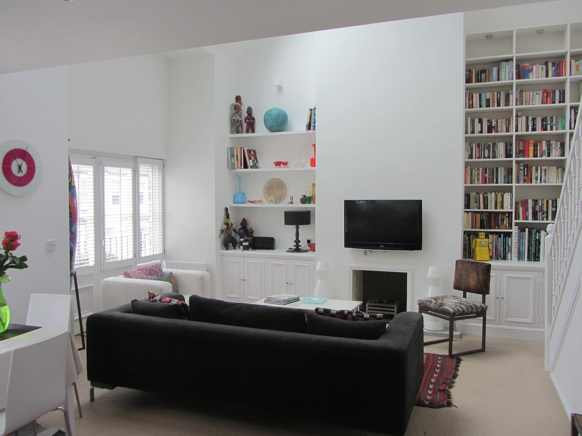 Loft style 3 dbl bedroom apartment