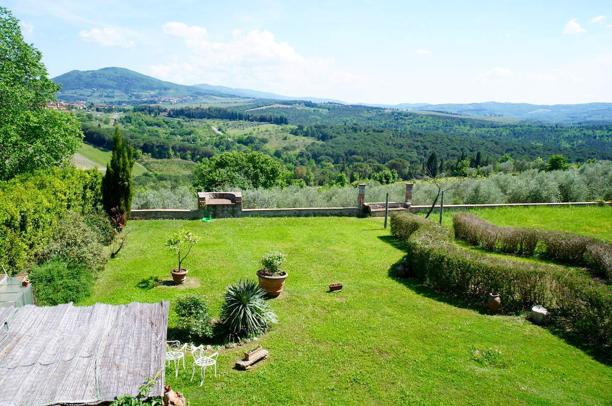 Villa near Florence with nice view!