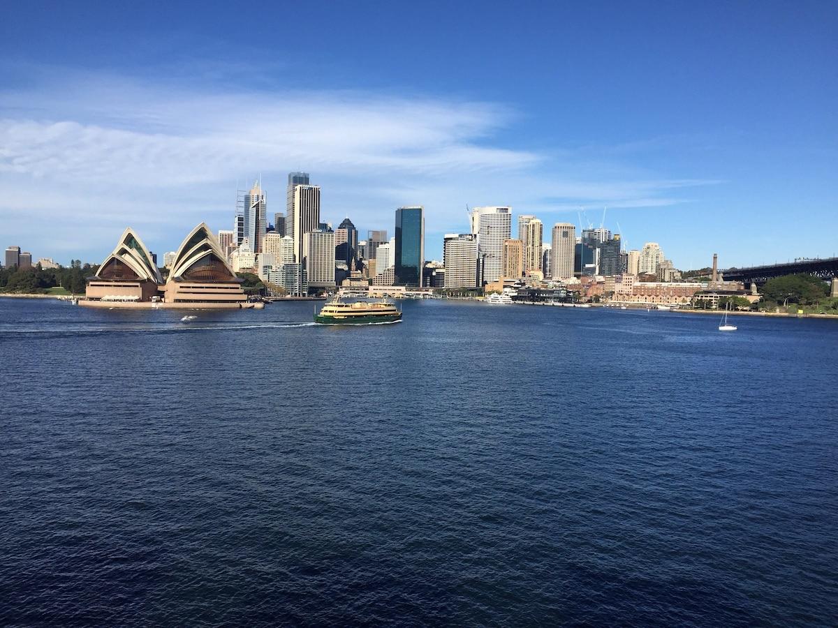 Sydney Harbour at your doorstep
