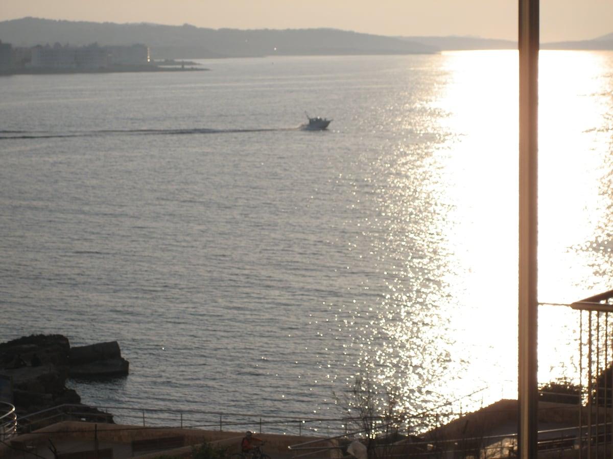 Piso con vistas al mar