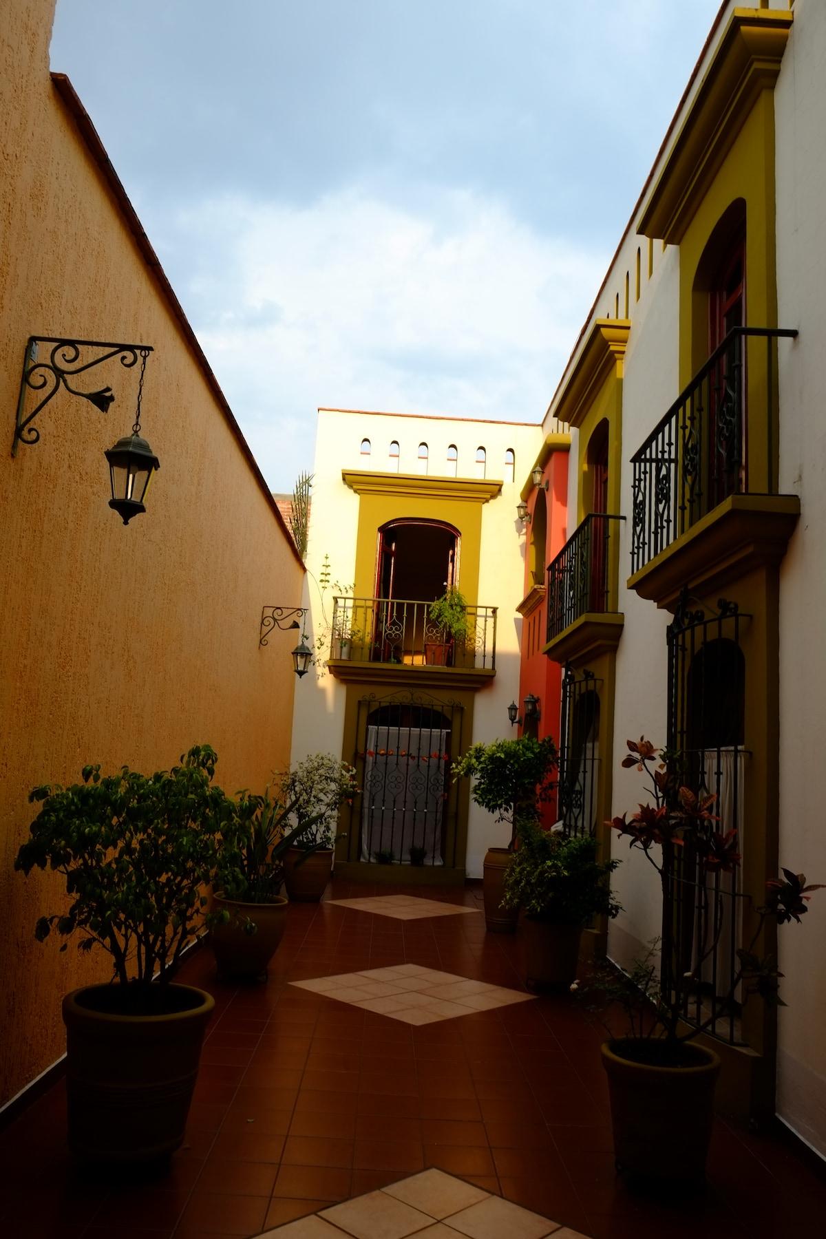 Peaceful Apt in Oaxaca City Center