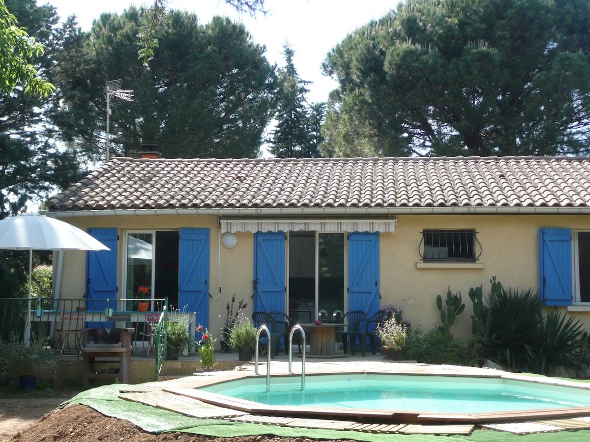 superbe maison avec piscine