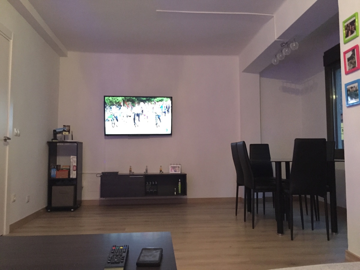Habitación doble céntrica con WIFI