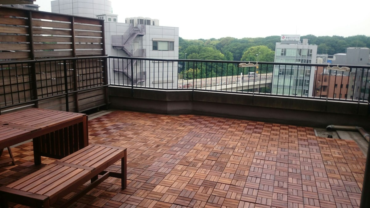 Great View Studio in Central Tokyo.