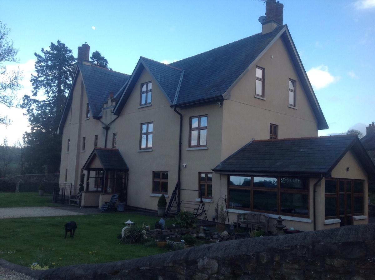 Large. Farm house in Usk valley