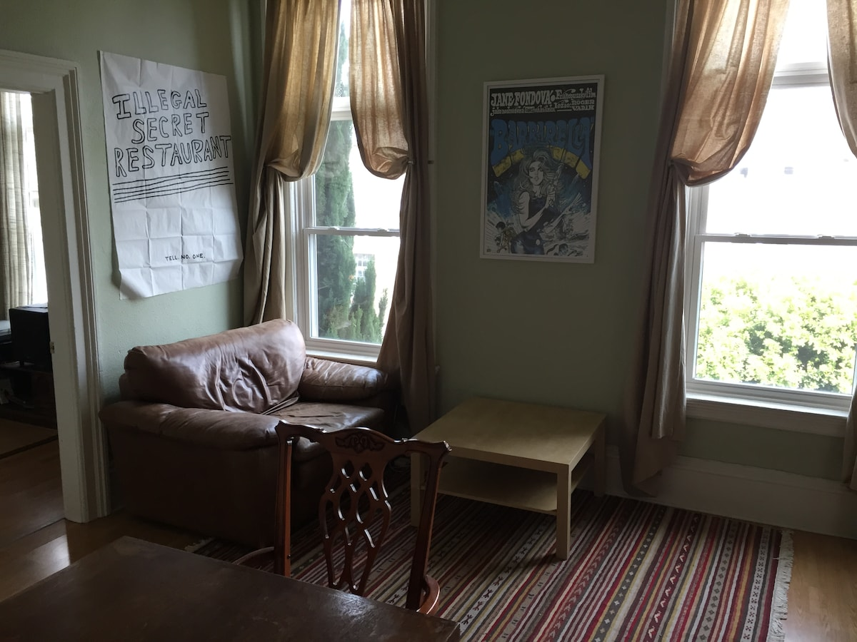 Spacious 1BD by Lake Merritt