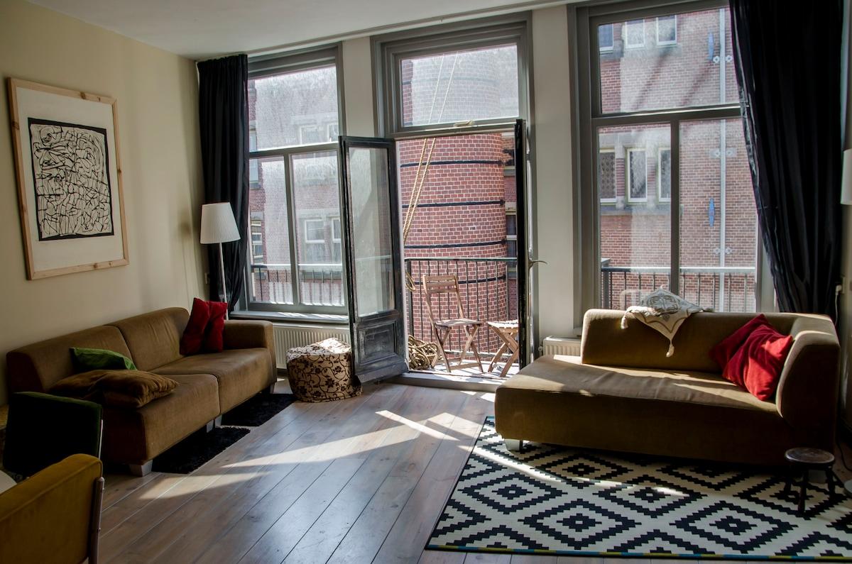 Wonderful apartment, centre A'dam