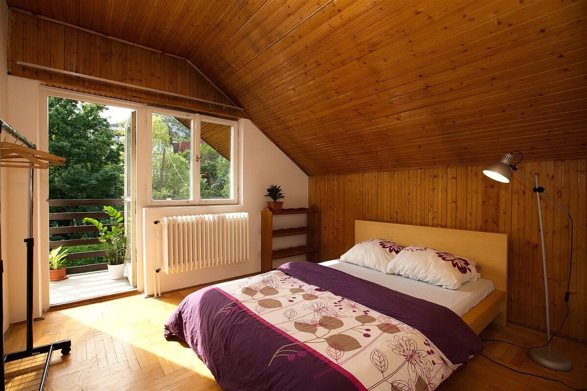 Room+Wifi+Balcony+GardenNearCenter2