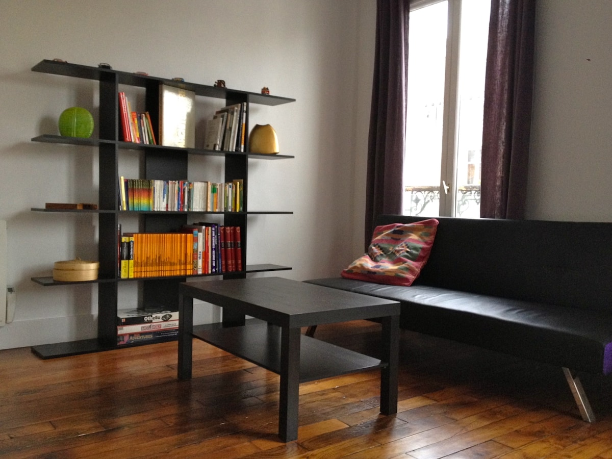Apartment in Paris for 4/6 people