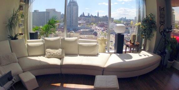 Amazing location upscale loft style