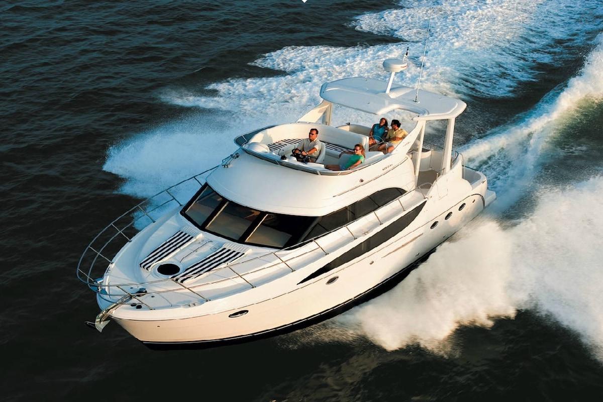 Enjoy Malibu on a 47' Yacht