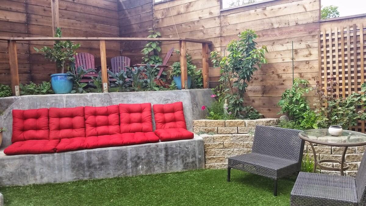 Bernal Nest, 2BD w/garden & hot tub