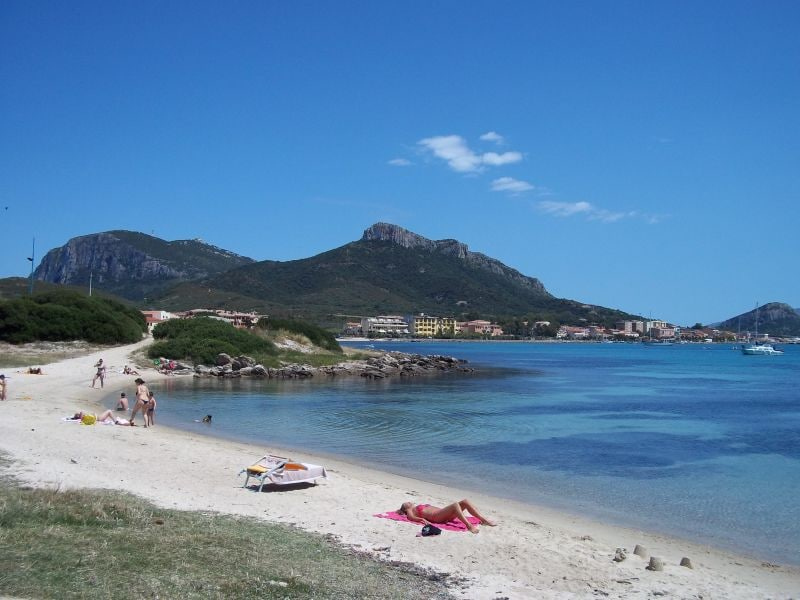 House on the beach in Sardinia