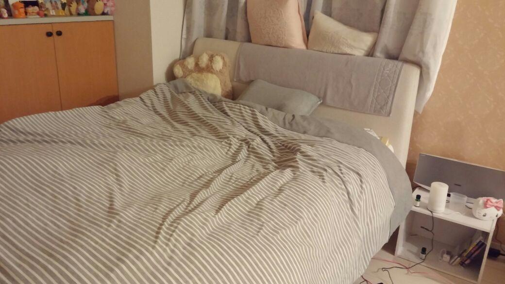 15畳で広々、ダブルベッドでゆったりスペース!癒やしの空間