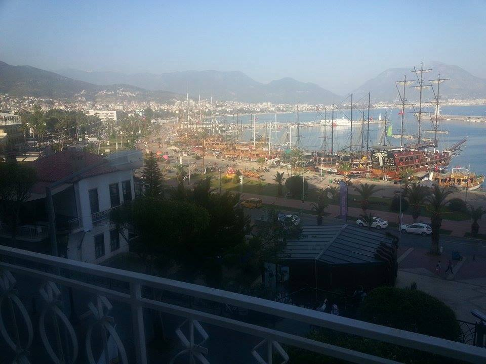 great alanya harbour view