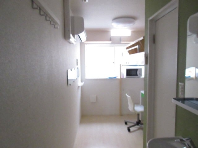 A small room in front of SKYTREE