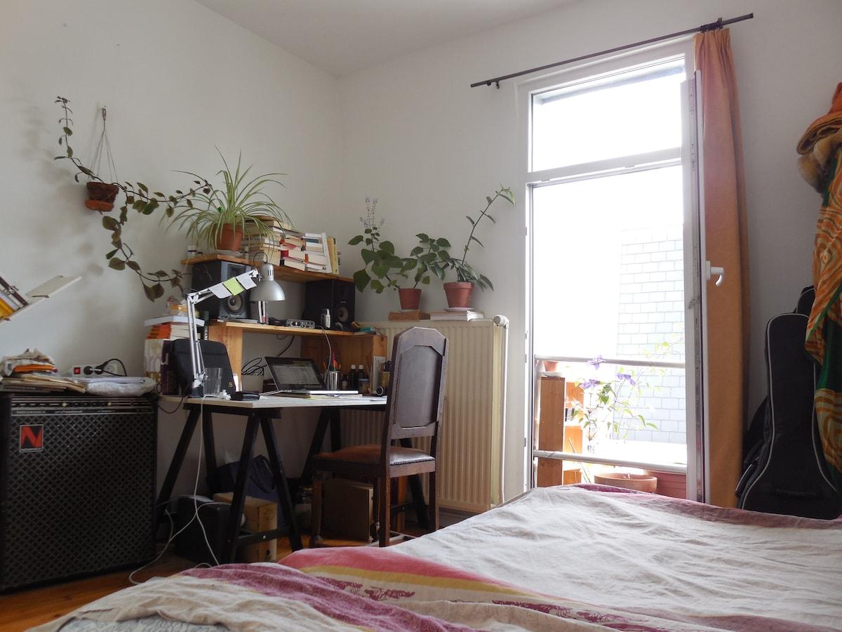 Calm and luminous room