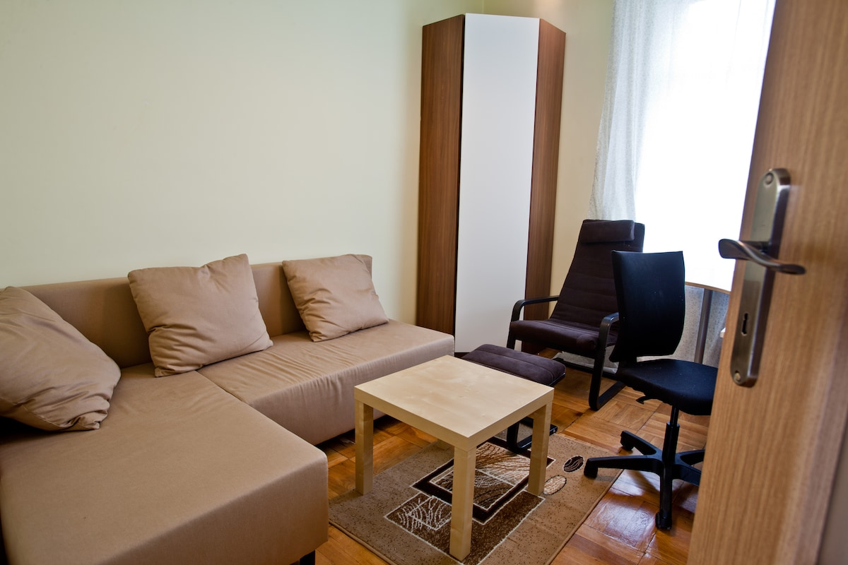 Cosy room in City Center + bicycle