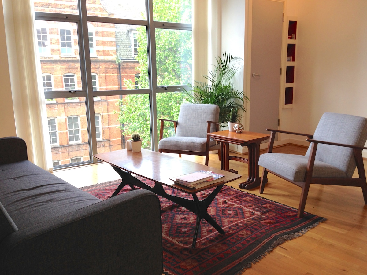 Modern 1BR in heart of Shoreditch