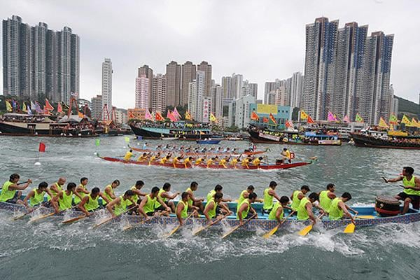 Don't Miss Dragon Boat Festival June 20, or International Dragon Boat Race July 3-5.