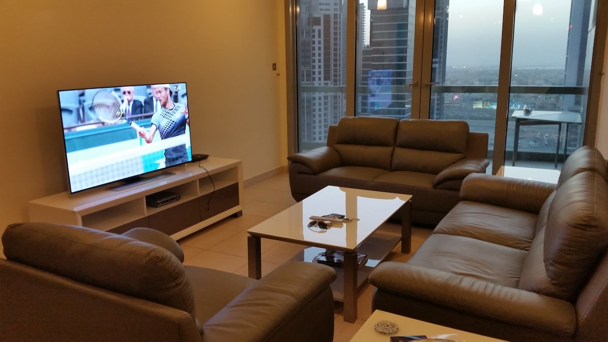 Sea View 1 Bed apt near BurjKhalifa